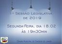 1ª Sessão Legislativa de 2019