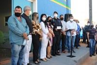 Vereadores participam da Inauguração da nova sede da Polícia Militar de Candeias.